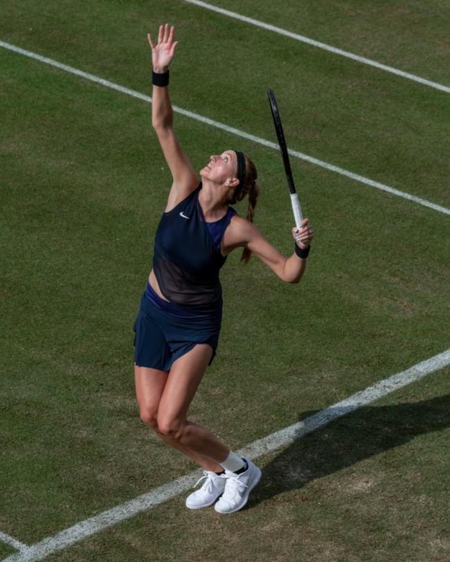 科維托娃逆轉取得草地巡回賽賽季開門紅
