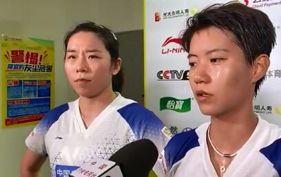 赢球都不满意 贾一凡/杜玥在这一方面还需锻炼