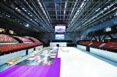 始钢冬奥训练中心冰球馆