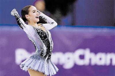 奥林匹克时尚偶像评选结果出炉 扎吉托娃高票当选