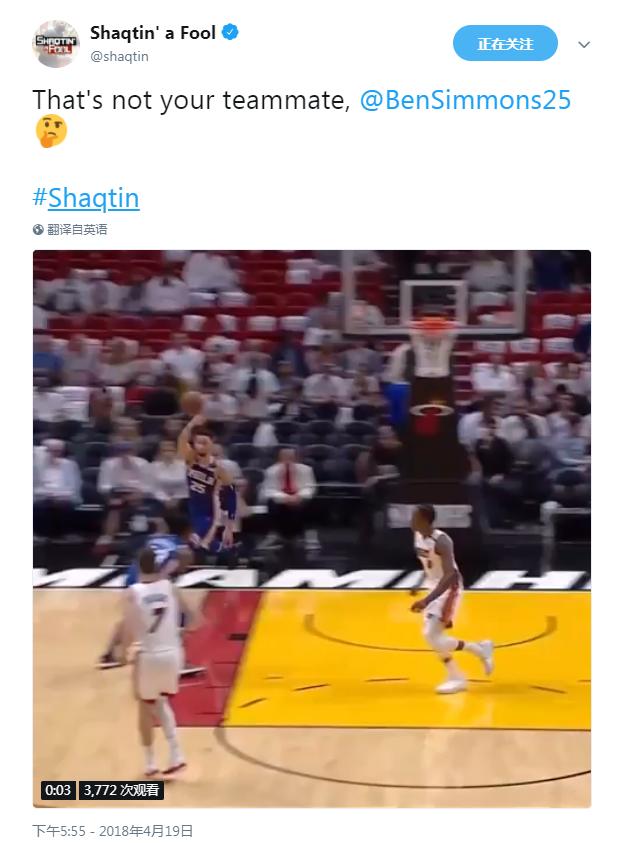 【影片】被五大糗官方點名!Simmons上演臥底秀 跑了半天就把球傳給對手?-Haters-黑特籃球NBA新聞影音圖片分享社區