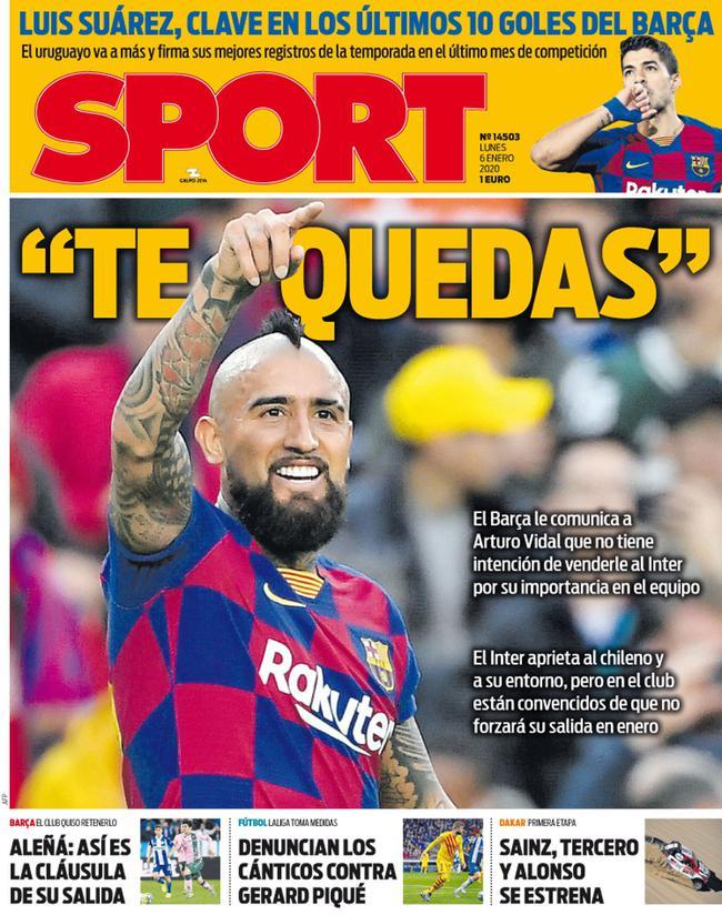 《每日体育报》封面