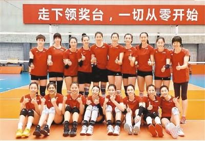 人民日报聚焦中国女排:心中有目标 身边有战友