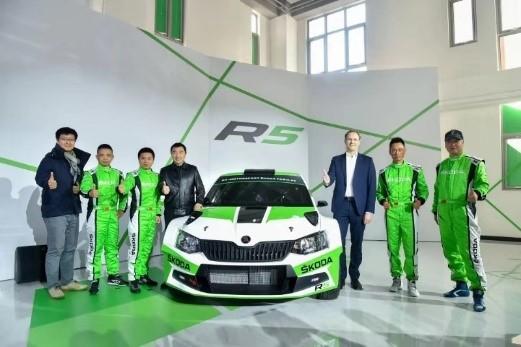 斯柯达FABIA R5始次成为一支中国车队的主力赛车