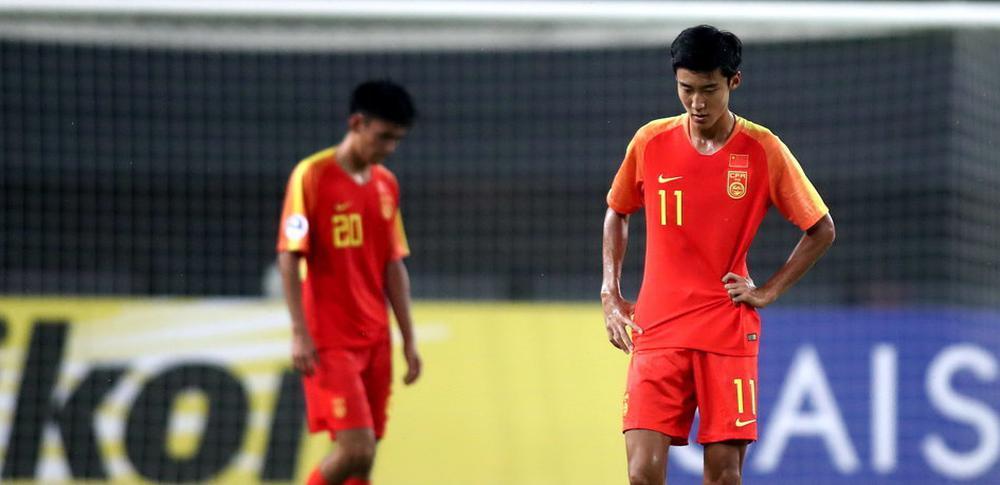 亚青赛-刘若钒+徐皓阳造险 U19国青0-1塔吉克斯坦