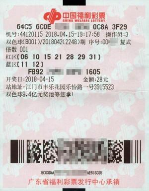 铁杆粉丝28元揽福彩652万 逾10年自选终成正果