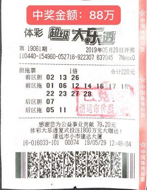 9人小团220元擒大乐透88万 为提高中奖率合买