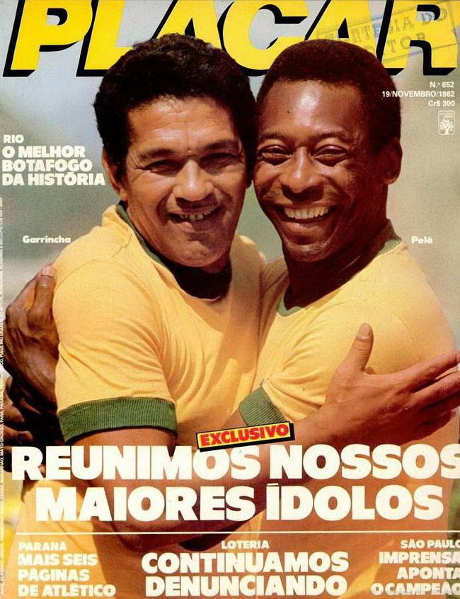 那时候,像贝利和加林查这样的巨星都在本国联赛
