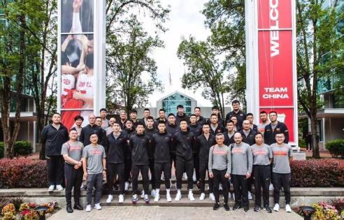中国男篮结束波特兰特训