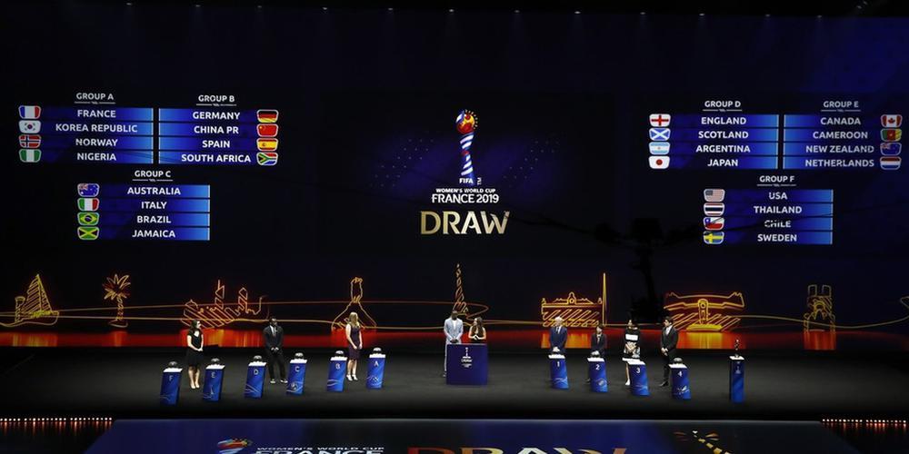 女足世界杯抽签