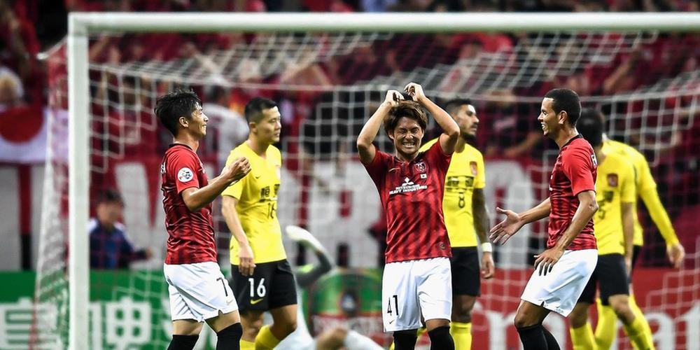 亚冠-韦世豪进球被吹连遭两记世界波 恒大0-2浦和