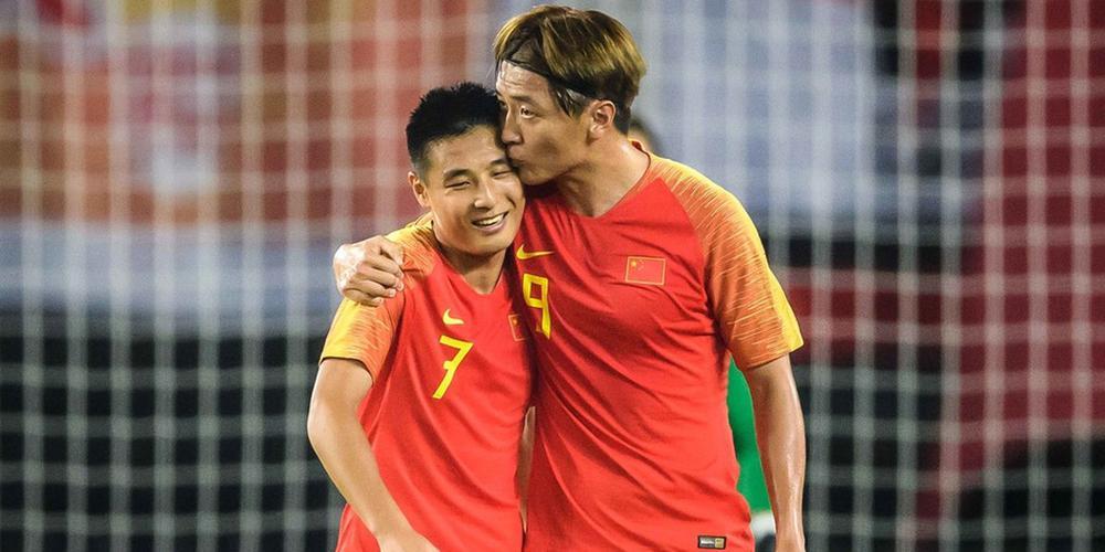 世预赛-杨旭大四喜武磊艾克森破门 国足7-0两连胜
