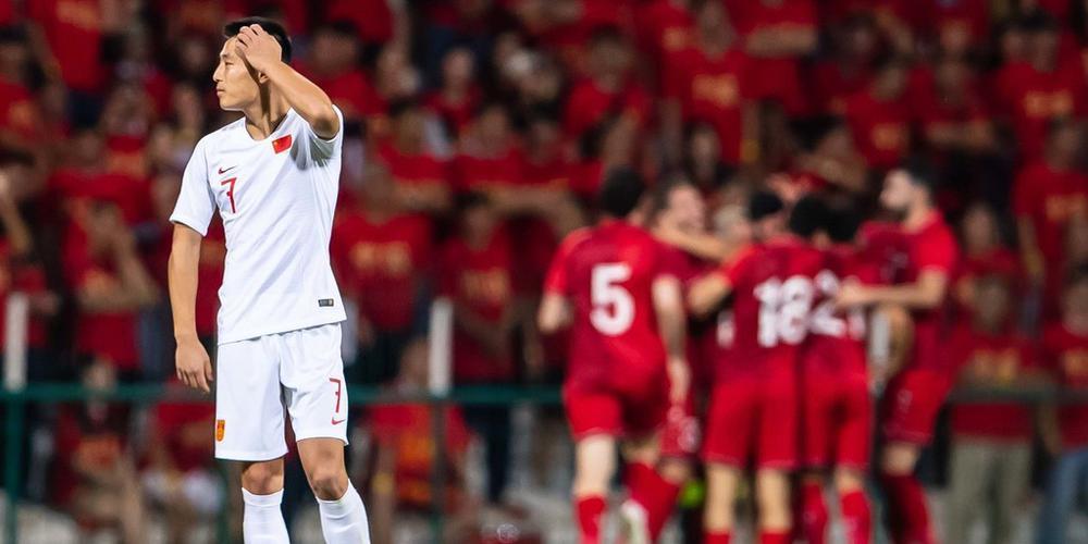 世预赛-张琳芃乌龙武磊破门难救主 国足1-2叙利亚