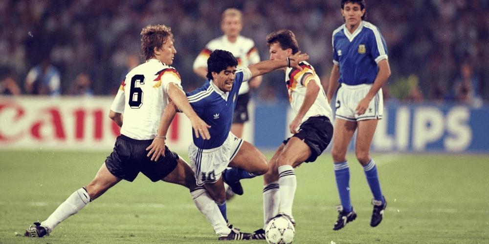 1990年意大利世界杯老照片