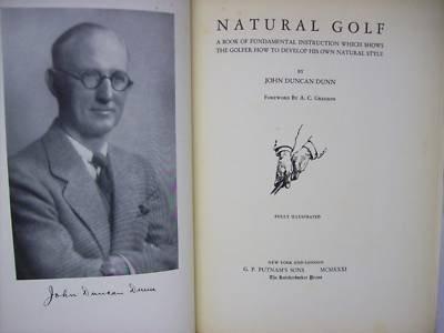 约翰和他的《自然高尔夫》一书