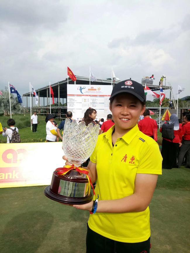 安彤赢得马来西亚青少年公开赛冠军