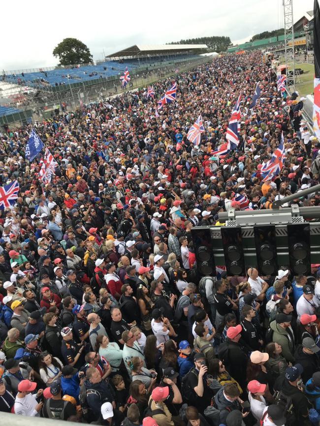 F1  英国警方再次警告F1车迷不要去银石
