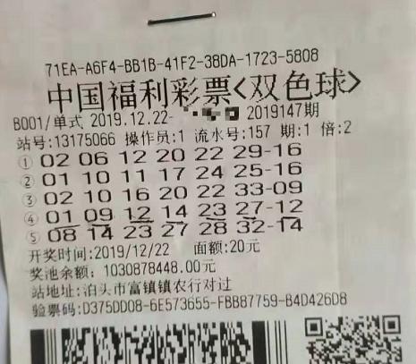 中獎彩票2