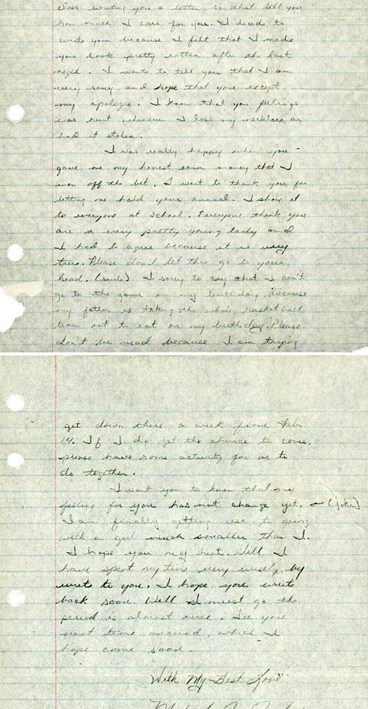 乔丹26岁时写的情书被拍卖 竞价已达11万美元