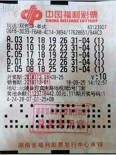 孝顺儿子获双色球头奖609万 奖金用于父母养老