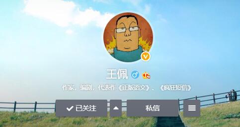 作家王佩的微博
