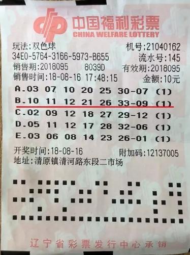 只买双色球只机选一次10元 彩民坚守揽878万大奖