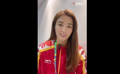 上海女足赵丽娜发布vlog:全运会志愿者非常辛苦