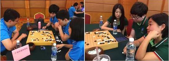 一路绽放的围棋魅力 城围联常规赛D组上演关键战