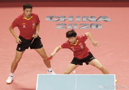 战奥运国乒混双需努力 许昕要适应刘诗雯以外搭档