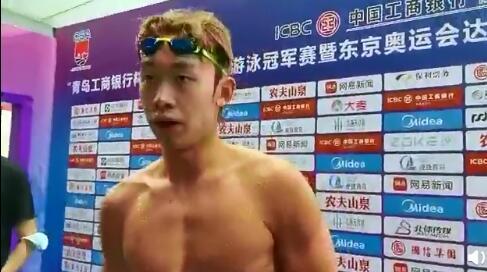 """张子扬:不是游泳队跑最快的 """"水陆两栖""""没秘籍"""