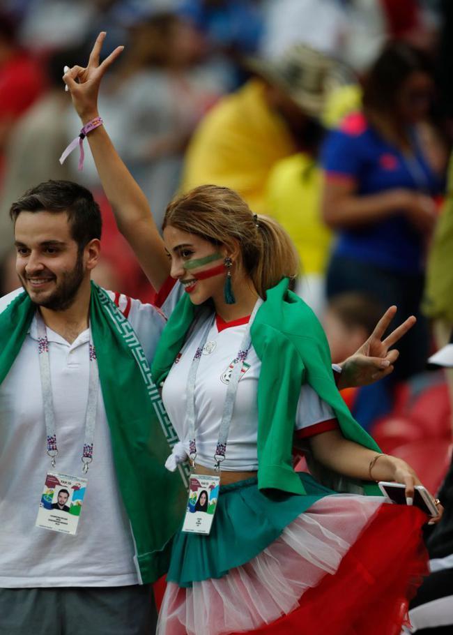 美麗的伊朗女球迷