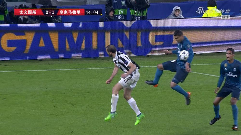 卡塞米罗疑似手球未判罚