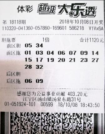 老彩民喜中大乐透752万元 受访自曝选号秘诀
