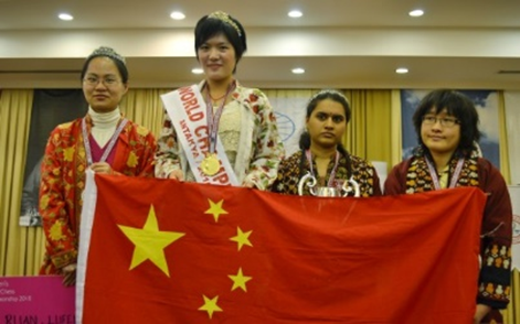 2010年侯逸凡成为中国第五位世界棋后