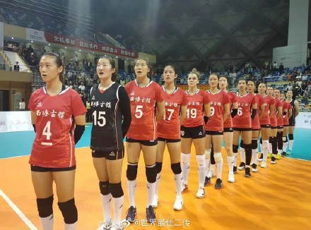 浙江-上海女排对抗赛(图源@世界最佳二传)