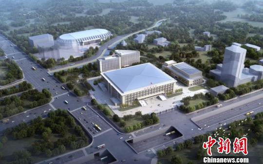 改造后的始体行动园区效率图。 北京市庞大办挑供 摄