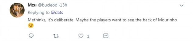 有球迷提出阴谋论:故意做掉穆帅