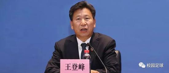 教育部体育卫生与艺术教育司司长王登峰
