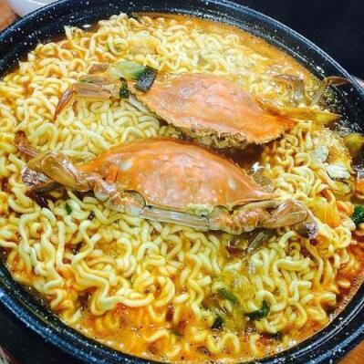 据说,韩国人是这么吃螃蟹的?