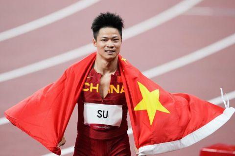 【博狗体育】苏炳添:感谢刘翔支持鼓励 他是我偶像也是幸运星