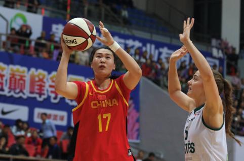 国奥女篮热身赛击败立陶宛Aistes俱乐部