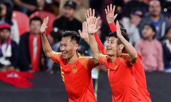 武磊取得进球 国足取胜就很简单