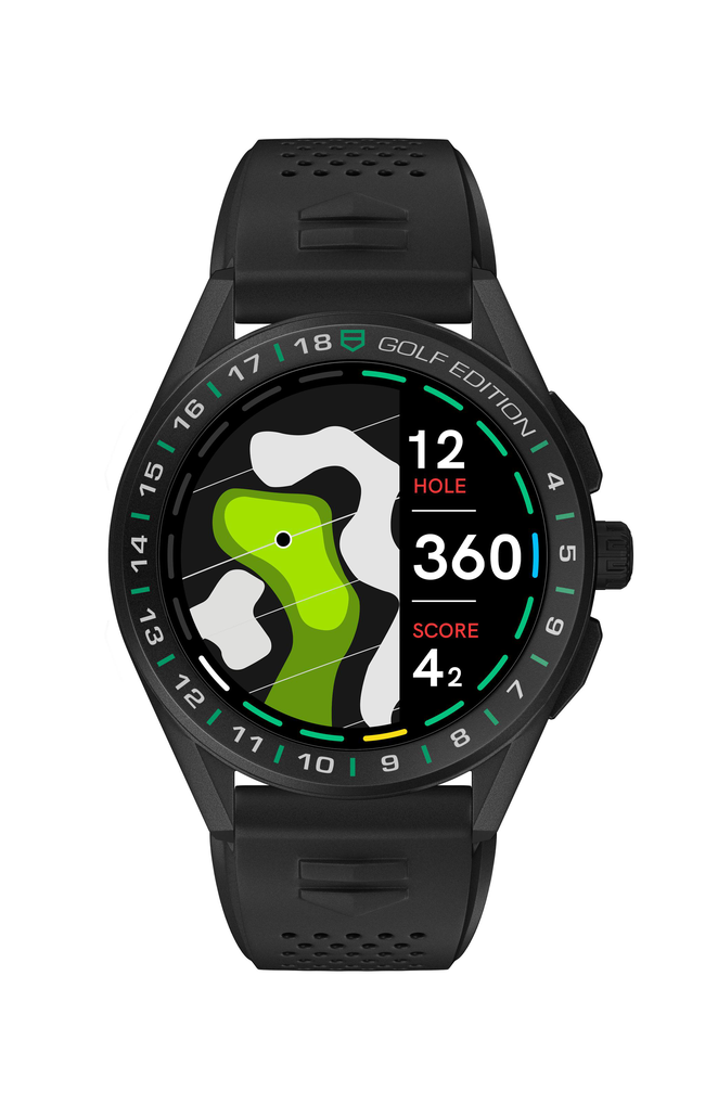 TAG Heuer泰格豪雅推出智能腕表高尔夫版