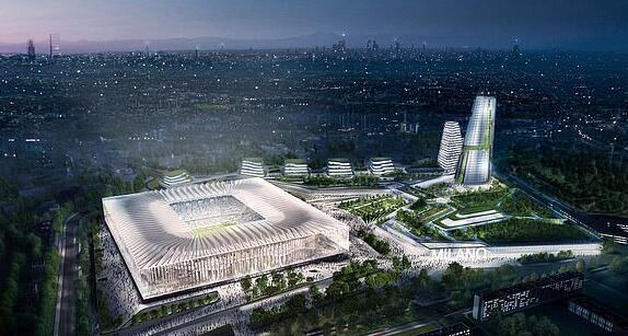计划中的新球场