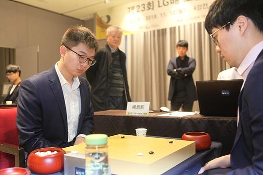 杨鼎新在半决赛比赛中
