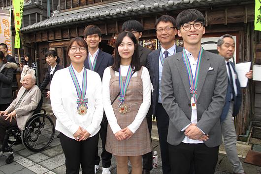 卫冕冠军韩国队