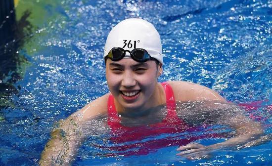 东奥官网预测中国游泳队名单之女队:张雨霏扛旗