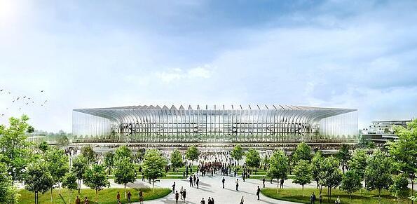 新球场周围计划新建更多设施