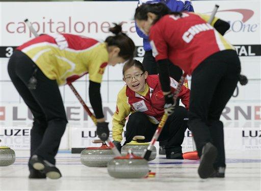 中国女子冰壶09夺冠