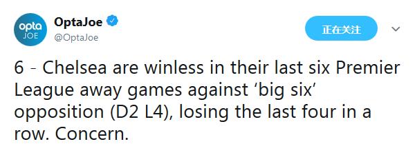 """本场比赛之前就已经是""""big6""""客场虫"""